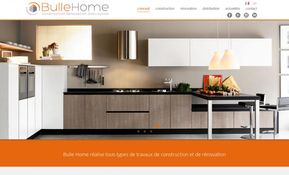 Refonte technique du site Bulle Home